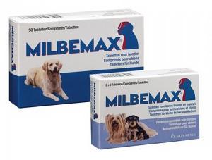 Milbemax Voor Honden Bijsluiter